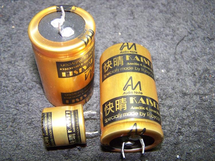 AudioNote Kaisei capacitor