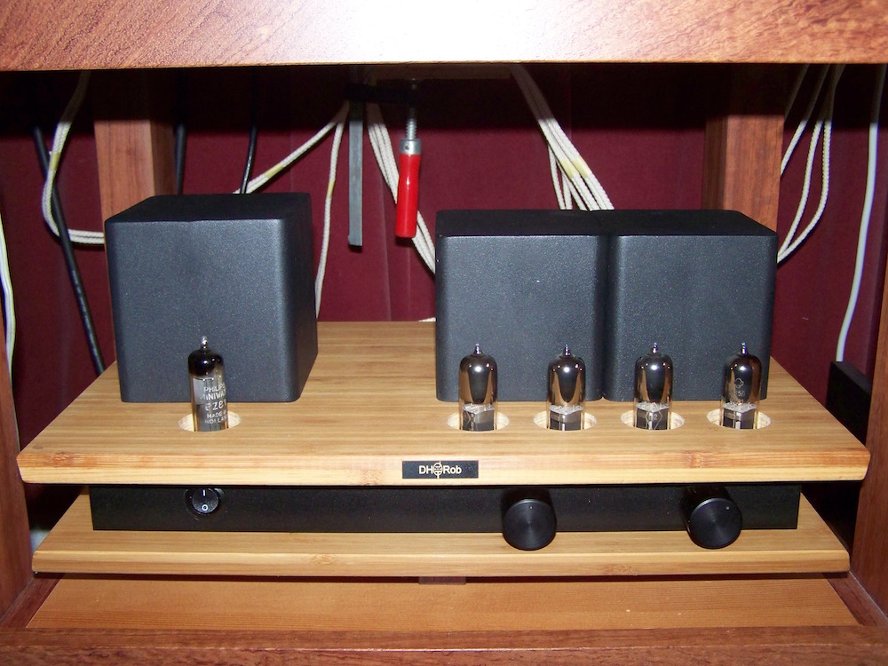 Spud-pull 6E5P tubeamplifier