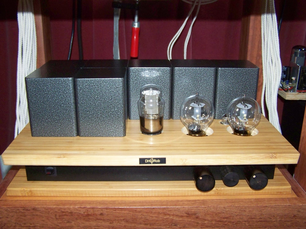 6SN7 and 6AL5 preamplifier