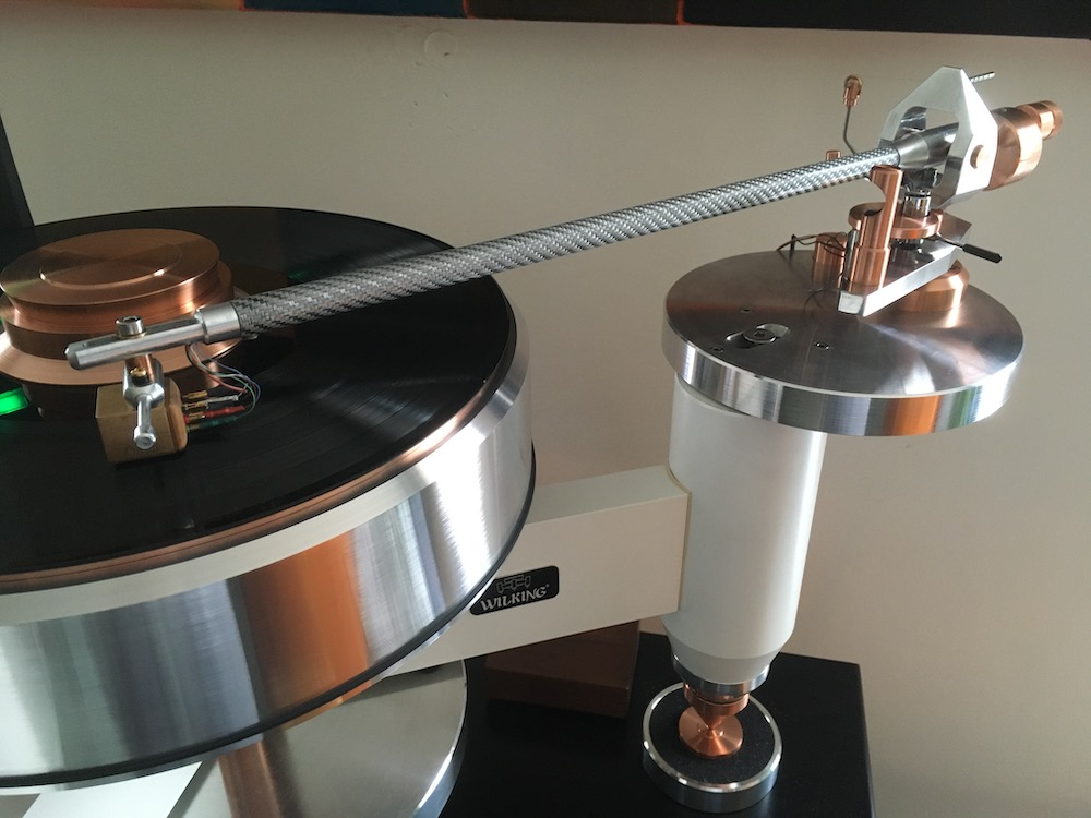Wilking state of the art tonearm