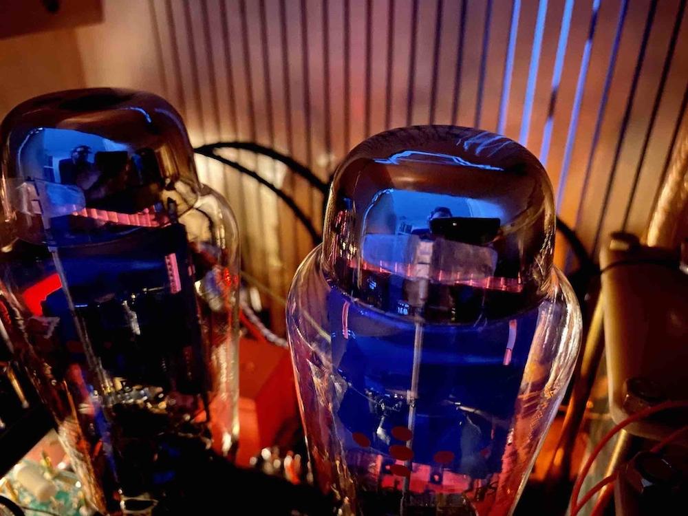 Ale Mogliaa 300B amplifier