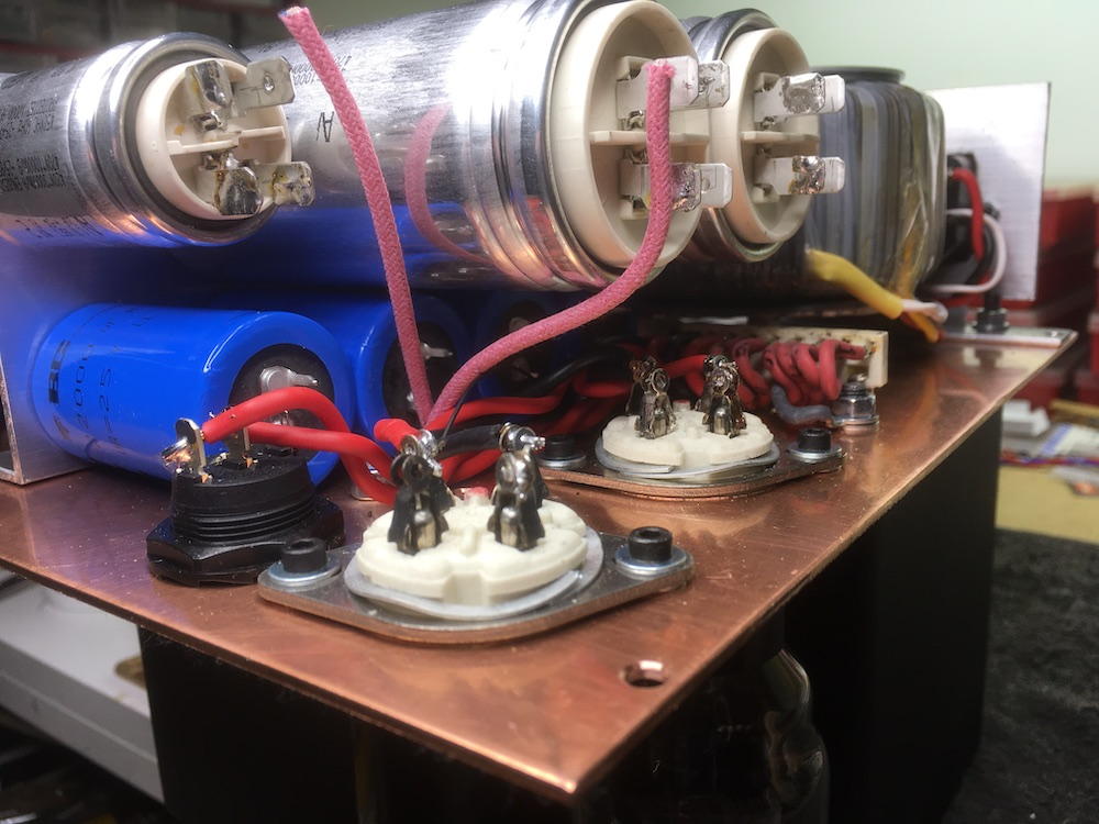 Power supply in prgress
