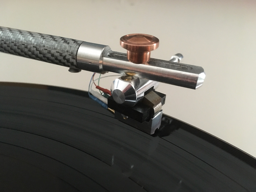 Wilking tonearm with naked SPU Meister Silver