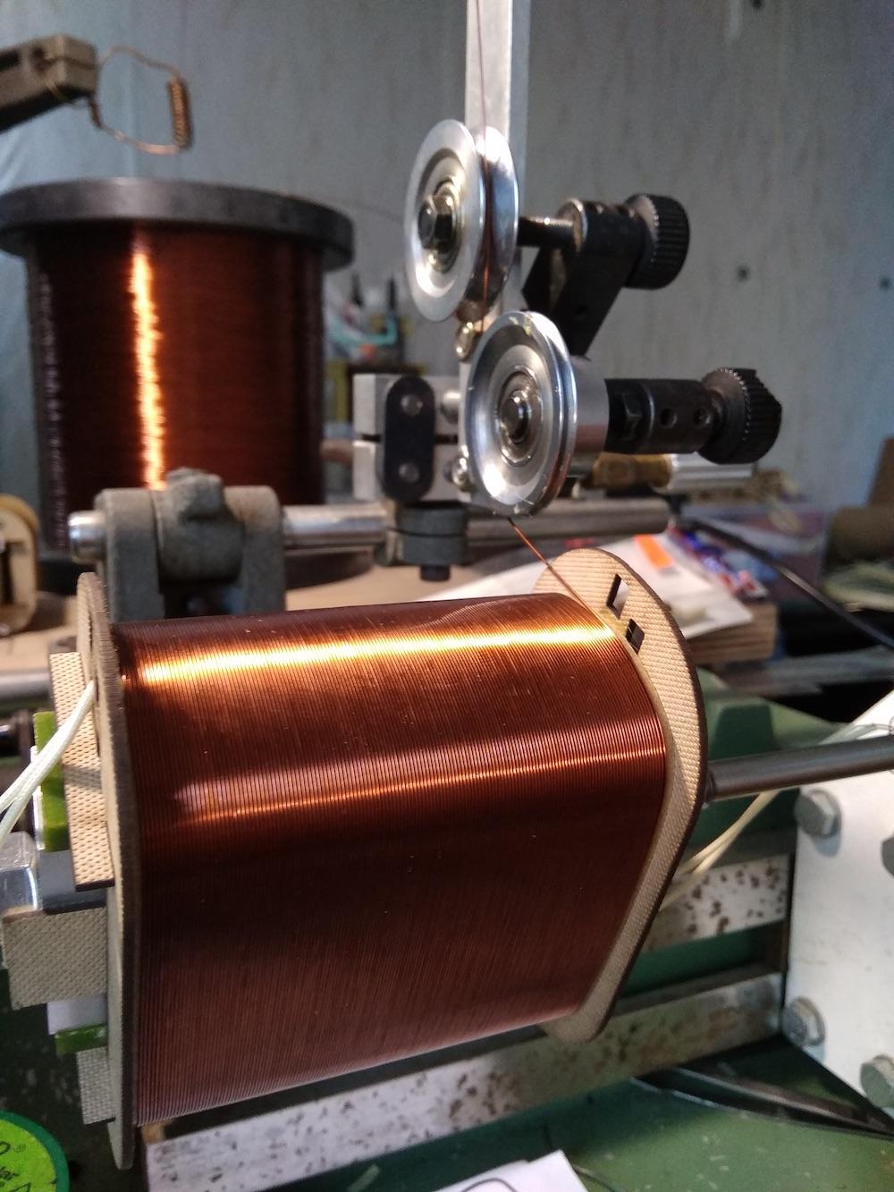 Alexander Naydenov transformer winding